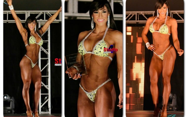 'La China': Campeona Bikini Wellness