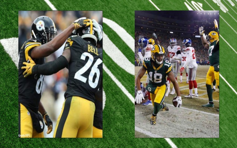 ¡Catimba de Steelers y Packers!