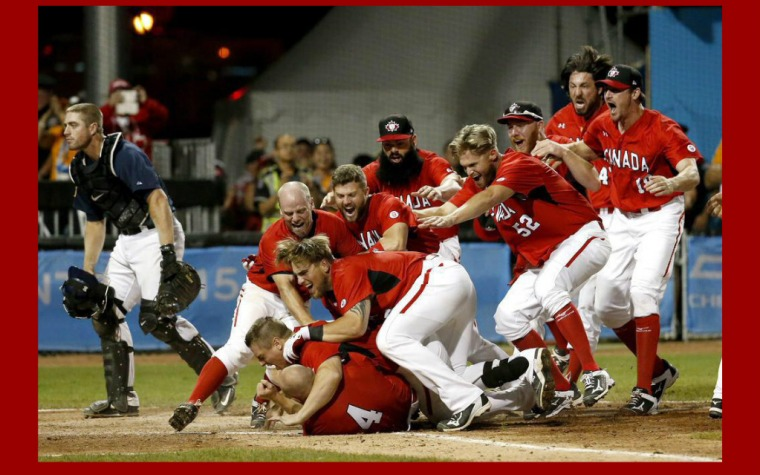 Oro canadiense en baseball