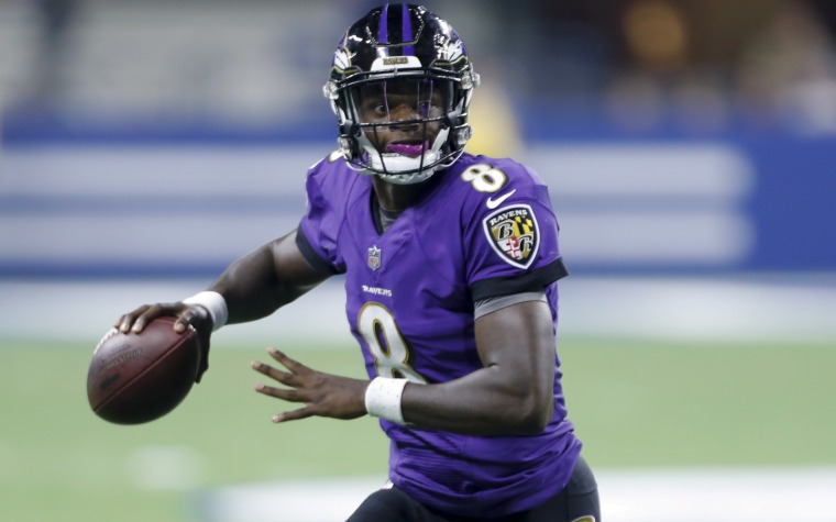 Imparable Lamar Jackson