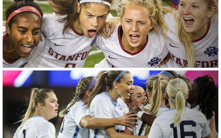 Stanford vs North Carolina en la Final College Cup FutFem