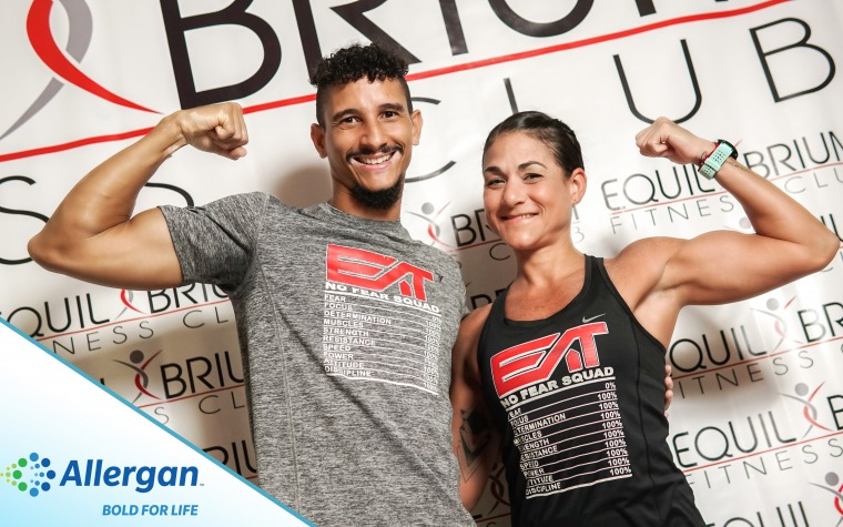 Yanessa y Efraín al North America Obstacle Racing Championship