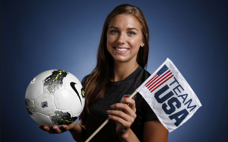 Alex Morgan en Puerto Rico