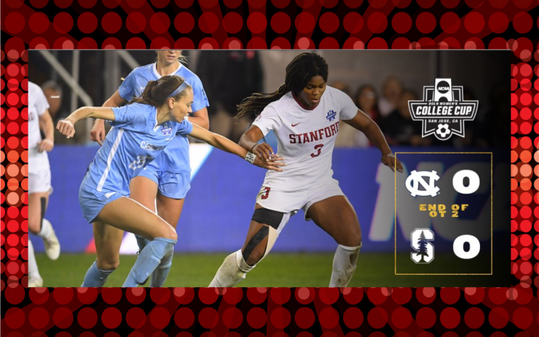 Se define en penales Stanford vs North Carolina