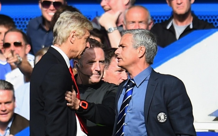 SuperCopa: Wenger vs Mou