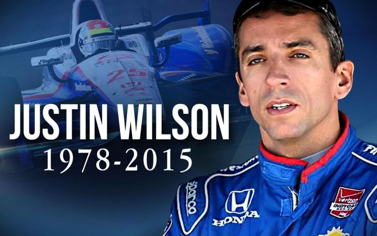 Muere Wilson tras accidente en carrera IndyCar